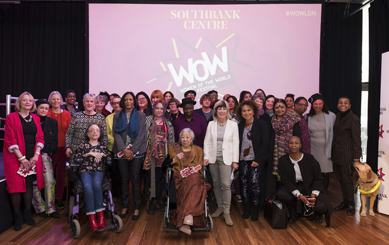 Maria among the winners and nominees of the 2018 Women of the World award event